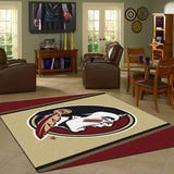 Florida State University Team Spirit Rug