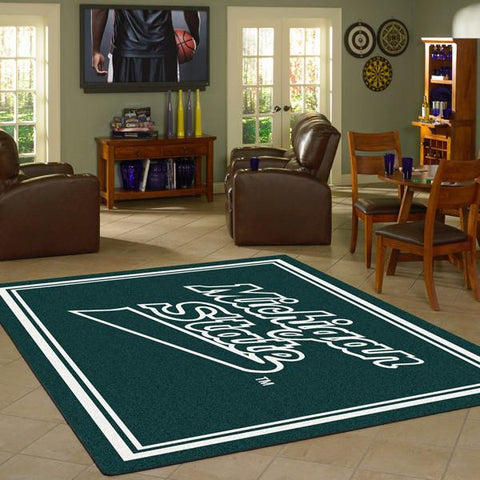 Michigan State University Team Spirit Rug