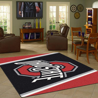 Ohio State University Team Spirit Rug