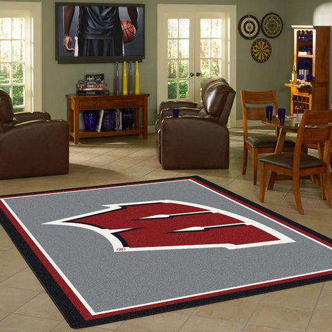 Wisconsin University Team Spirit Rug