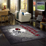 Arizona Cardinals NFL Team Distressed Rug