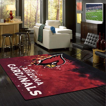 Arizona Cardinals NFL Team Fade Rug
