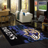 Baltimore Ravens Fade Rug - NFL Team