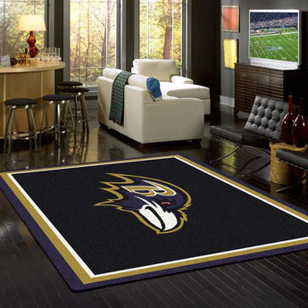 Baltimore Ravens Spirit Rug - NFL Team
