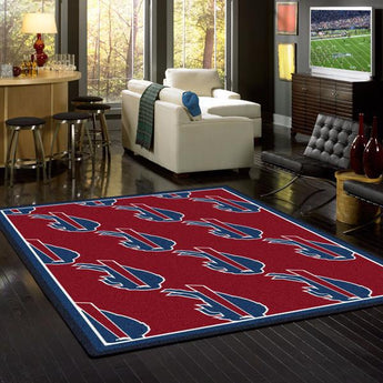 Buffalo Bills NFL Team Repeat Rug