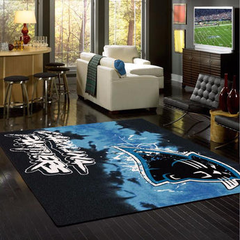 Carolina Panthers Fade Rug - NFL Team