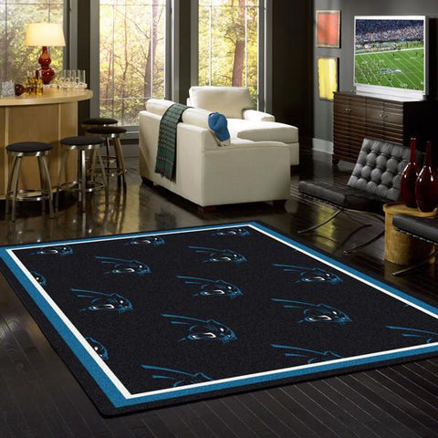 Carolina Panthers NFL Team Repeat Rug