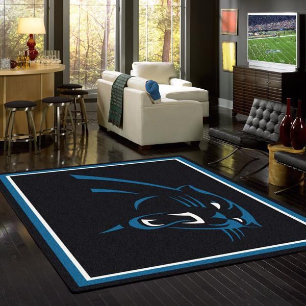 Carolina Panthers NFL Team Spirit Rug