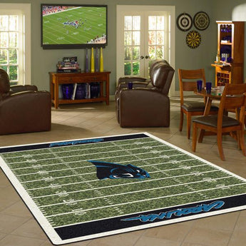 Carolina Panthers Football Field Rug - NFL Team