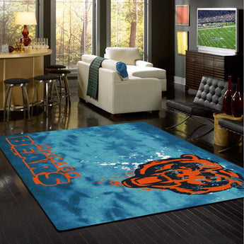 Chicago Bears NFL Team Fade Rug