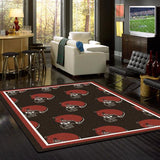 NFL Cleveland Browns Repeat Rug