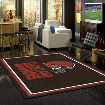 Cleveland Browns NFL Team Spirit Rug