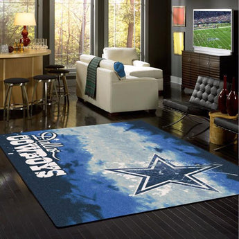 Dallas Cowboys NFL Team Fade Rug