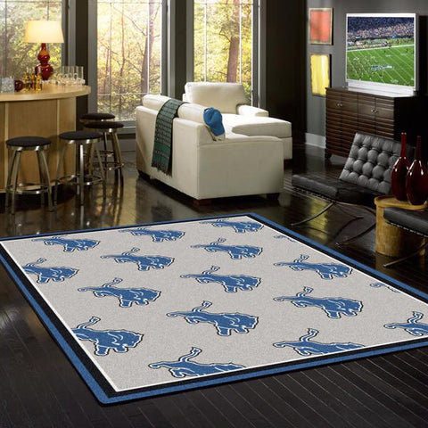 Detroit Lions Repeat Rug - NFL Team