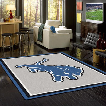 Detroit Lions NFL Team Spirit Rug