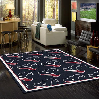 Houston Texans NFL Team Repeat Rug