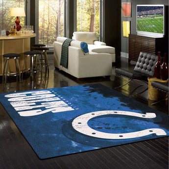 Indianapolis Colts NFL Team Fade Rug