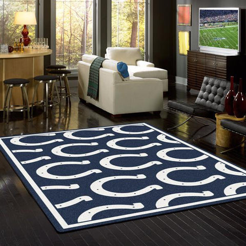 Indianapolis Colts NFL Team Repeat Rug