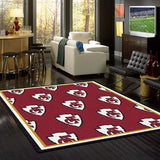 Kansas City Chiefs Repeat Rug - NFL Team