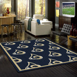 Los Angeles Rams NFL Team Repeat Rug
