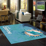 Miami Dolphins Fade Rug - NFL Team