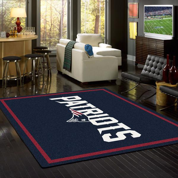 New England Patriots NFL Team Spirit Rug