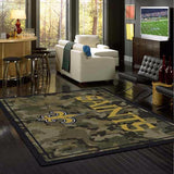 New Orleans Saints Camo Rug - NFL Team