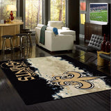 New Orleans Saints NFL Team Fade Rug