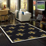 New Orleans Saints NFL Team Repeat Rug