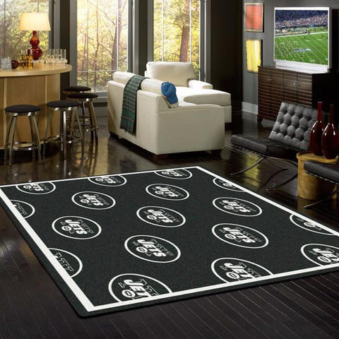 New York Jets Repeat Rug - NFL Team