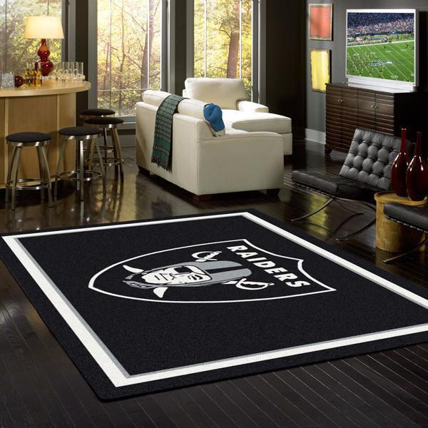 NFL Oakland Raiders Spirit Rug