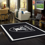 Oakland Raiders NFL Team Spirit Rug