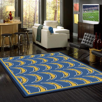 Los Angeles Chargers NFL Team Repeat Rug