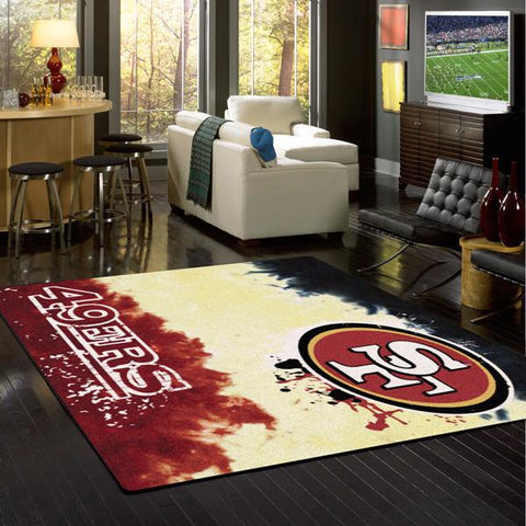 San Francisco 49ers Fade Rug - NFL Team