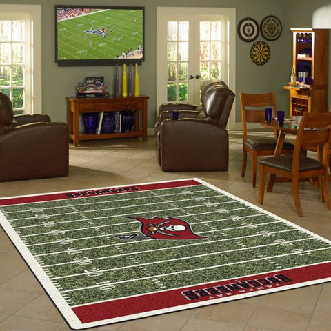 Tampa Bay Buccaneers Football Field Rug - NFL Team