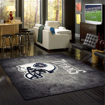 Tennessee Titans Distressed Rug - NFL Team