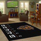 Chicago Bears Chrome Area Rug - NFL Team