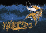 Minnesota Vikings Fade Rug - NFL Team