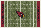 Arizona Cardinals Football Field Rug - NFL Team