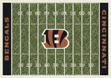 Cincinnati Bengals Football Field Rug - NFL Team