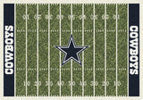 Dallas Cowboys Football Field Rug - NFL Team