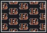 Cincinnati Bengals Repeat Rug - NFL Team