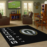 Green Bay Packers Chrome Area Rug - NFL Team