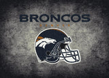 Denver Broncos Distressed Rug - NFL Team