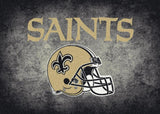 New Orleans Saints Distressed Rug - NFL Team
