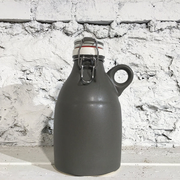 The Loop Growlette, Satin Grey, 32 oz