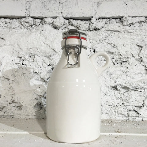 The Loop Growlette, Gloss White, 32 oz