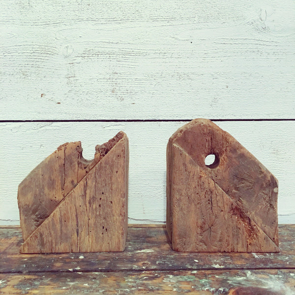 Barn Wood Bookends