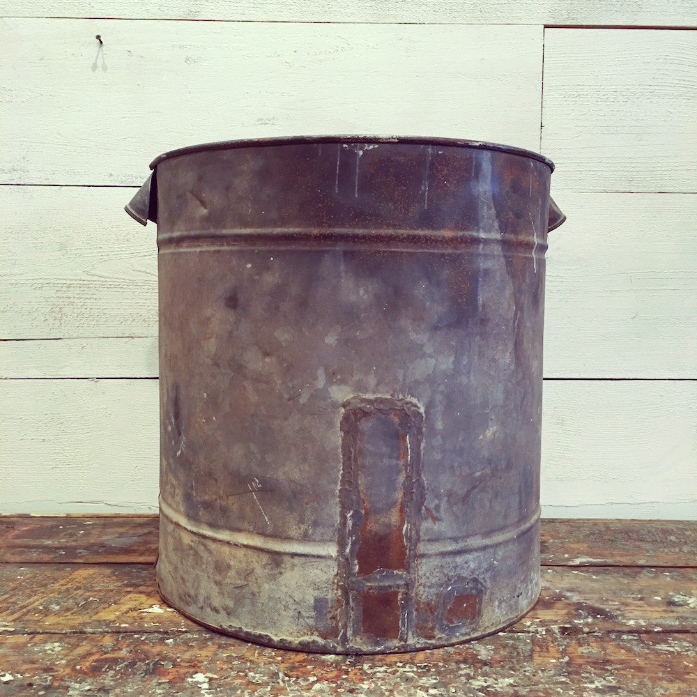 Galvanized Tub with Handles