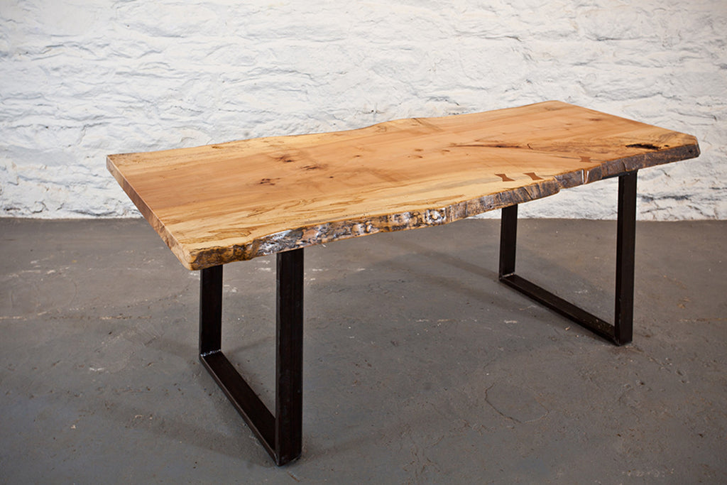 Maple Slab Dining Table